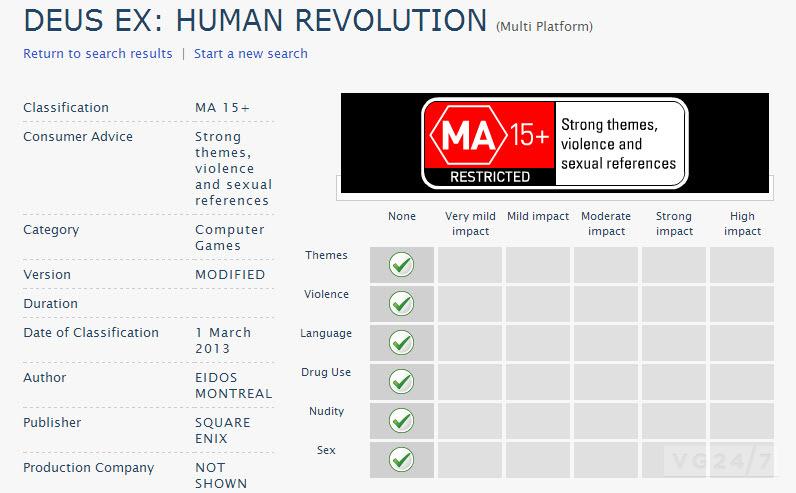 Deus Ex: Human Revolution Modified