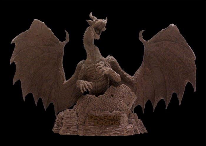 Макет дракона из Dragon's Dogma