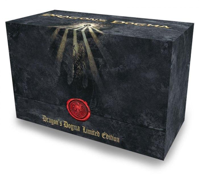 Упаковка коллекционного издания Dragon's Dogma