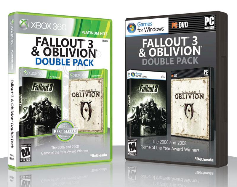 Fallout 3 и Oblivion двойной сборник