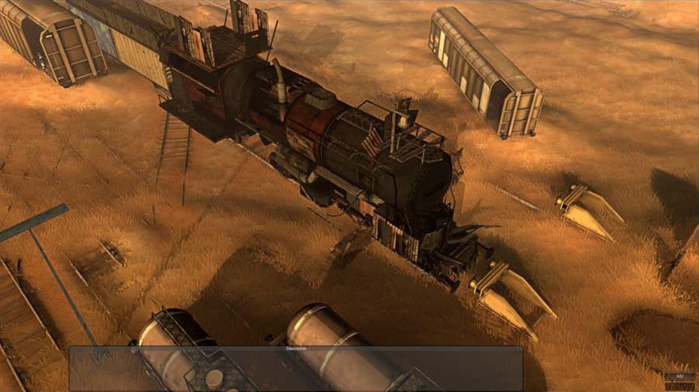 Поезд из Wasteland 2