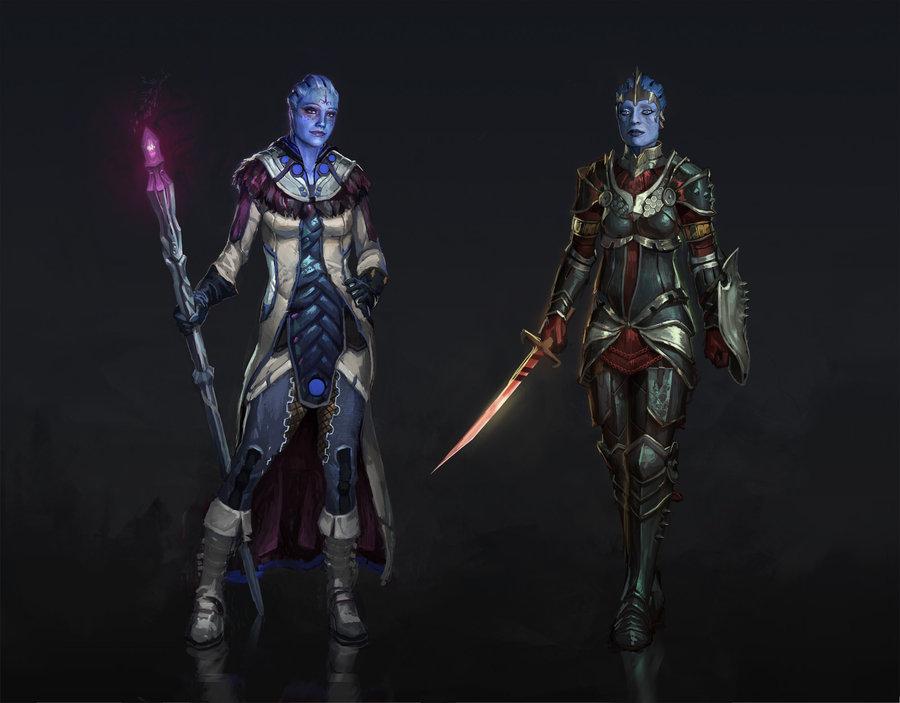 Dragon Effect: Лиара и Самара