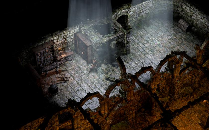 Подземелье в Chaos Chronicles