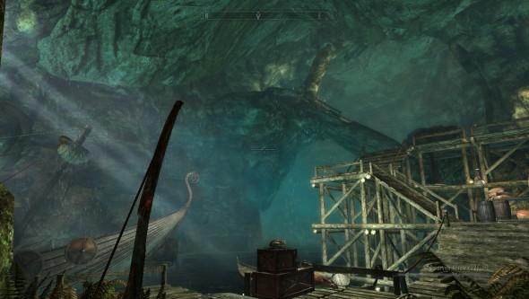Пещера около Солитьюда