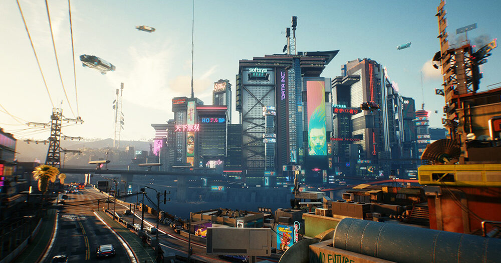 Рыцарский город в 2077 году