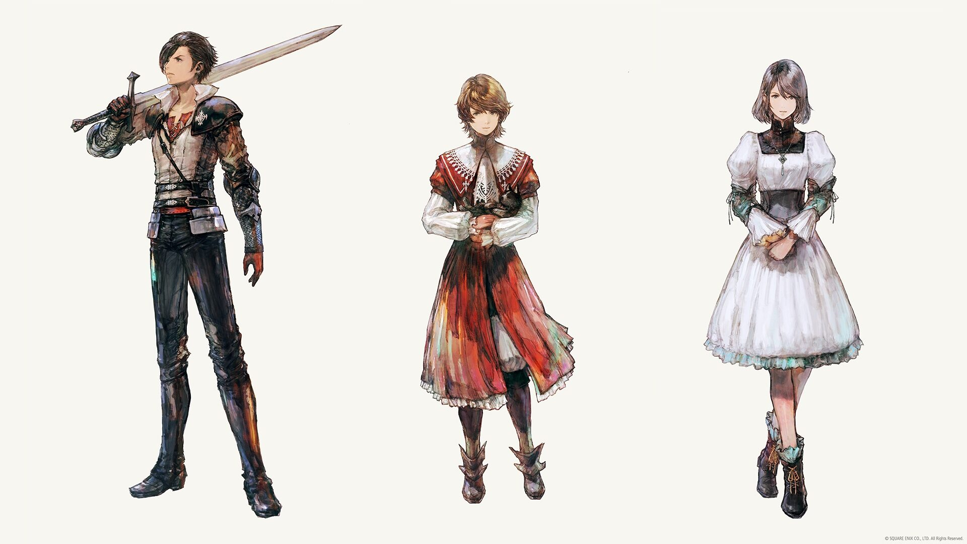 Персонажи Final Fantasy XVI