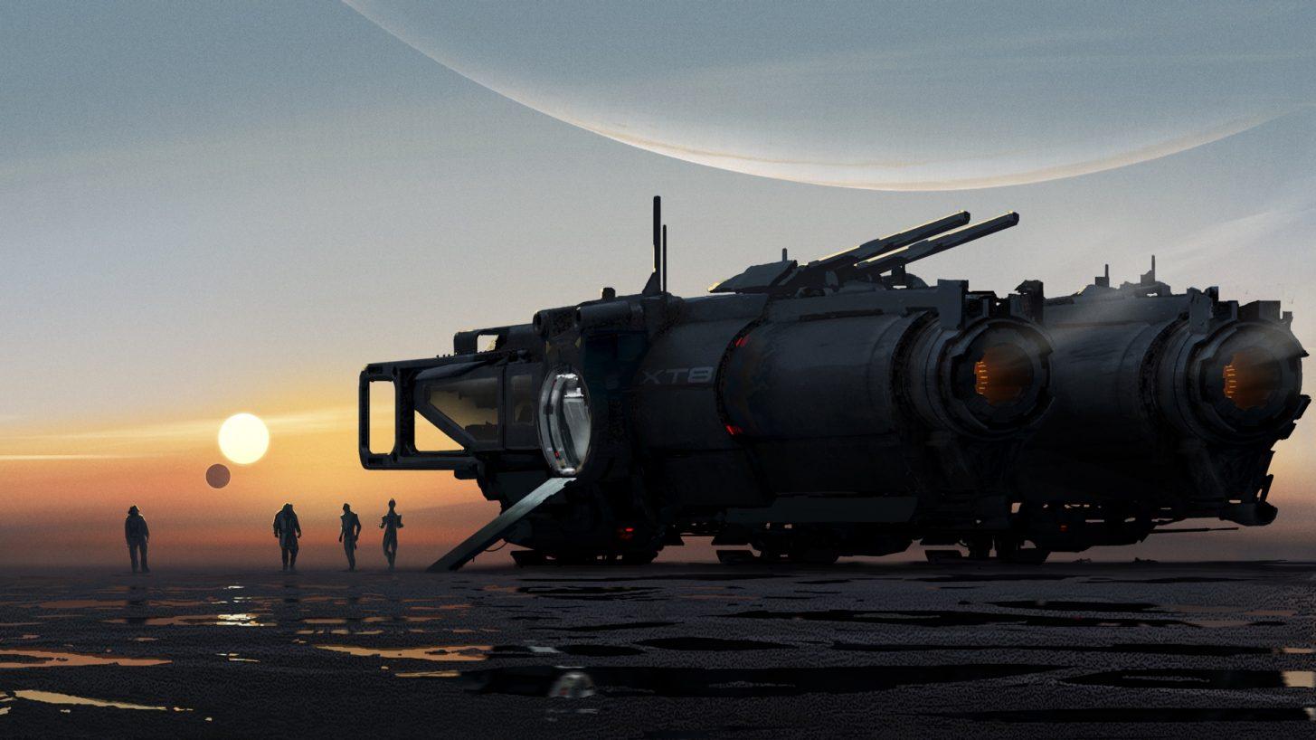 Mass Effect 5 концепт-арт